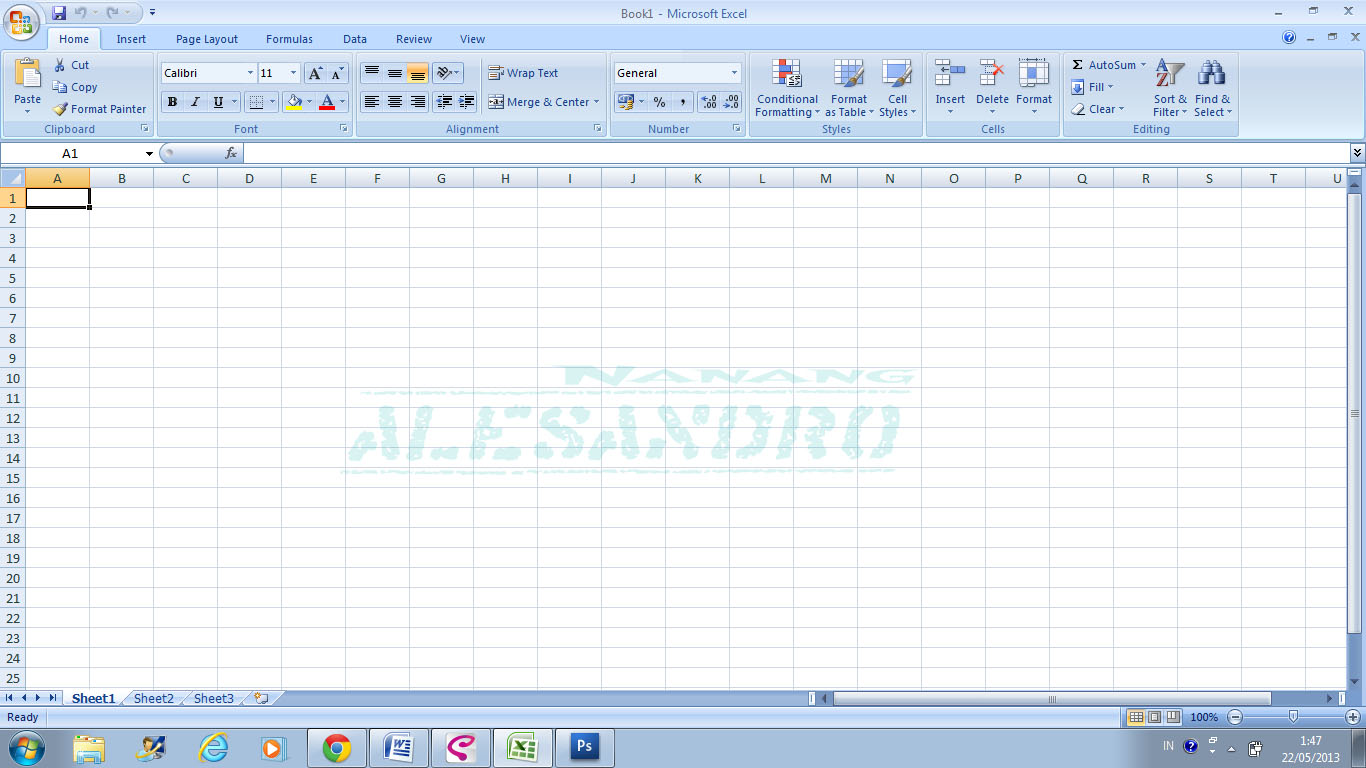 Cara Merubah Background Lembar Kerja Ms Excel Alesandros